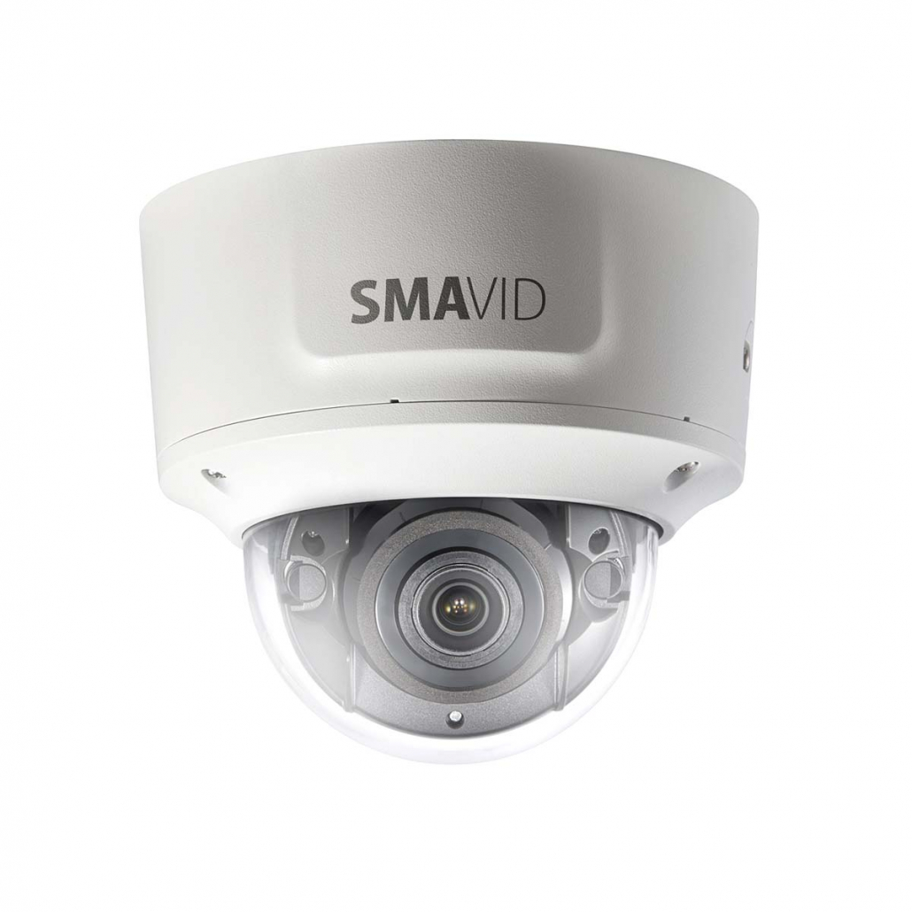 SMAVID 4 MP EXIR-Motorzoom Dome-Netzwerk-Kamera
