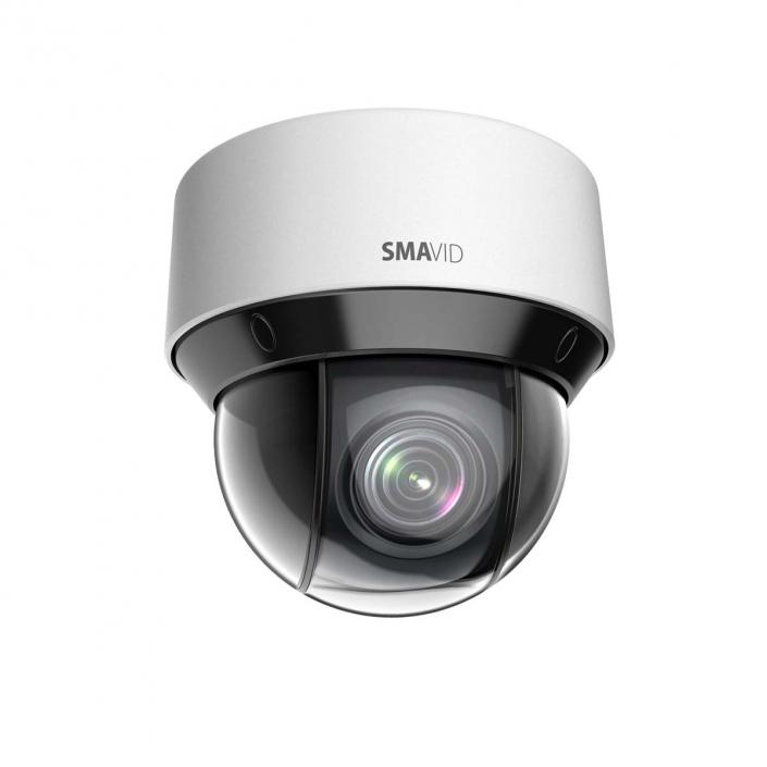 SMAVID 4MP PTZ-Dome-Smart Tracking Netzwerk-Kamera