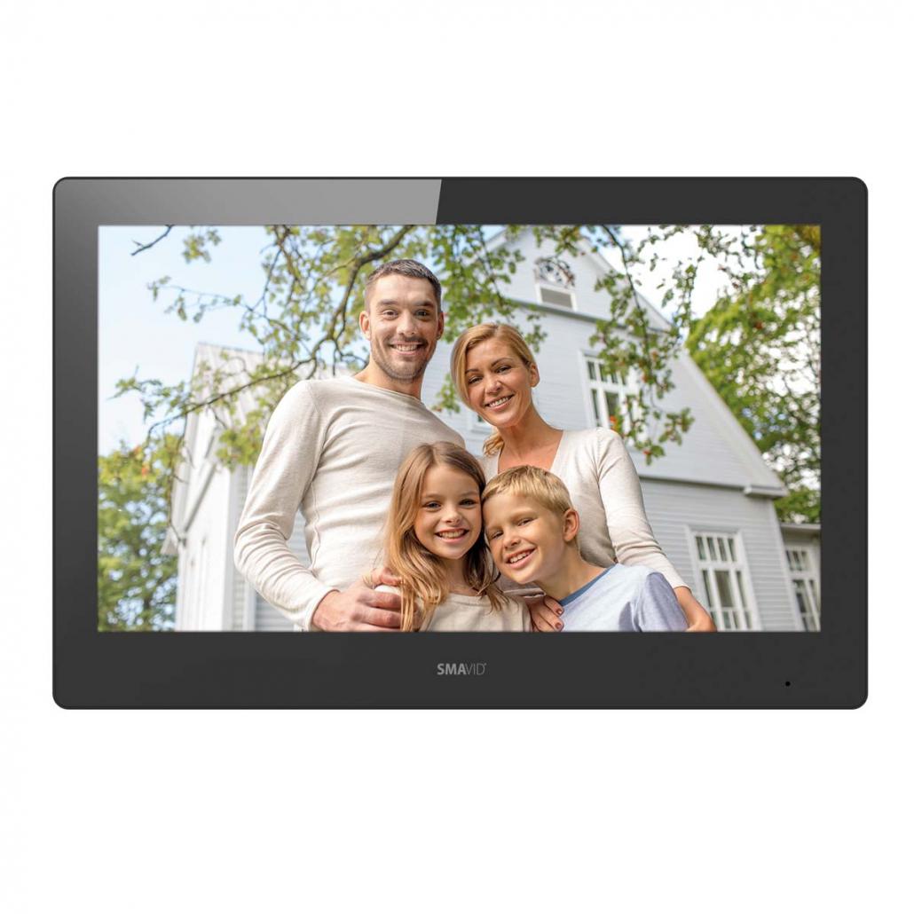SMAVID 10 Zoll TFT LCD Tür-Innenstation Touchscreen